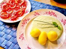 Dip aus frischen Gartenkräutern mit Pellkartoffeln - Rezept - Bild Nr. 2