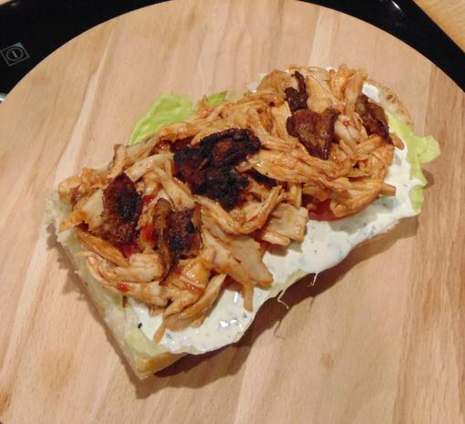 Oli`s PULLED CHICKEN SANDWICH - Rezept - Bild Nr. 3