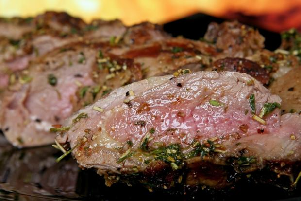 WildsauSeo Steak in Honig-Bier Sauce - Rezept - Bild Nr. 2