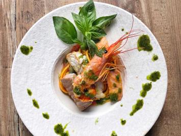 Spaghetti mit Fisch und Meeresfrüchten (Willi Herren) - Rezept - Bild Nr. 2