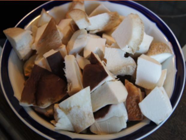 Steinpilzpfanne mit Kartoffelstampf - Rezept - Bild Nr. 7