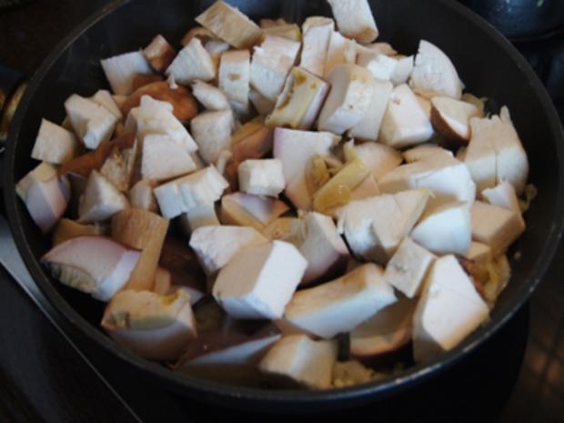 Steinpilzpfanne mit Kartoffelstampf - Rezept - Bild Nr. 9