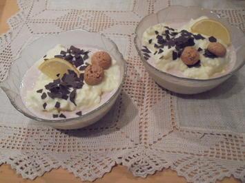 Doppelte Johannisbeer-Zitronen Dessertcreme - Rezept - Bild Nr. 2