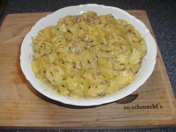 Rezept: Kartoffel-Gurkensalat