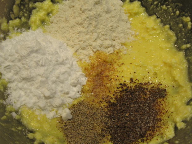 Kartoffeln: Kartoffelbaumkuchen mit Champignonfüllung - Rezept - Bild Nr. 4