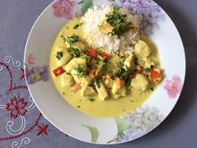 Madras Curry mit Kokosnusscreme - Rezept - Bild Nr. 2