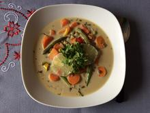 Tom Kha Suppe mit Berglinsen und Gemüse - Rezept - Bild Nr. 2