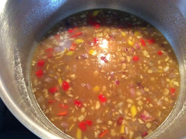 Tom Kha Suppe mit Berglinsen und Gemüse - Rezept - Bild Nr. 4
