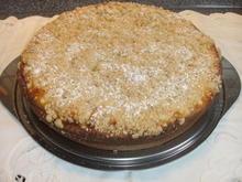 Apfel-Rahmkuchen mit Streusel - Rezept - Bild Nr. 2