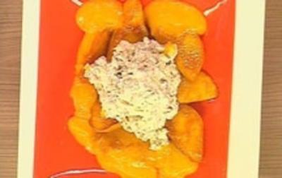 Karamellisierte Mangos - Rezept