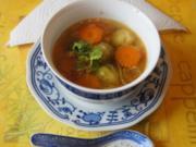 Asiatische Hühnersuppe - Rezept - Bild Nr. 22