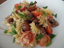 Überbackene Pilz-Pasta - Rezept - Bild Nr. 9551