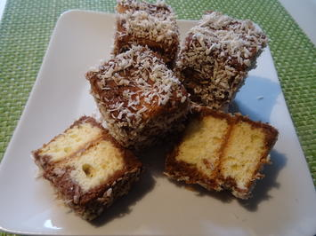 Rezept: Lamingtons