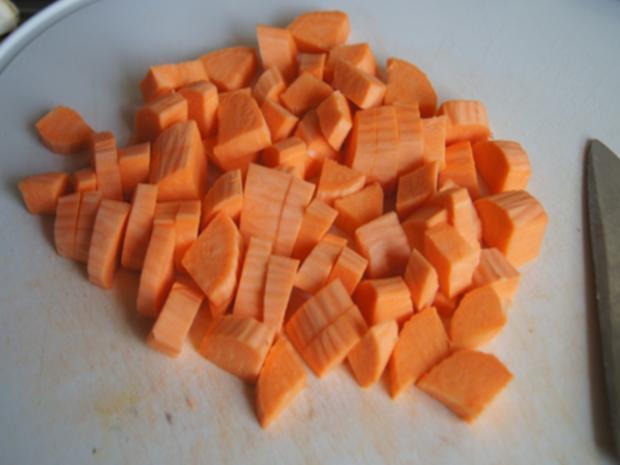 Steinpilzpfanne mit Süßkartoffelstampf - Rezept - Bild Nr. 10
