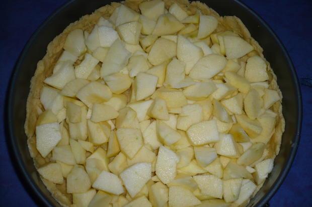 Apfel - Pudding Kuchen - Rezept - Bild Nr. 4