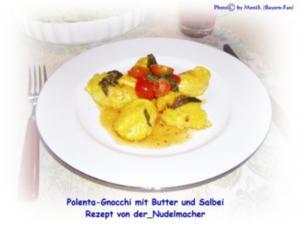 Polenta-Gnocchi mit Butter und Salbei - Rezept