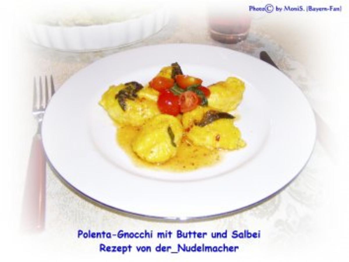 Polenta-Gnocchi mit Butter und Salbei - Rezept By der_Nudelmacher