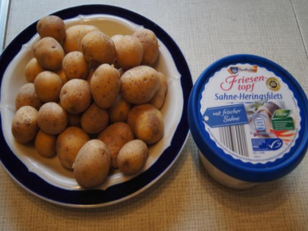 Französche Kartoffeln mit Sahne-Heringsfilets - Rezept - Bild Nr. 3