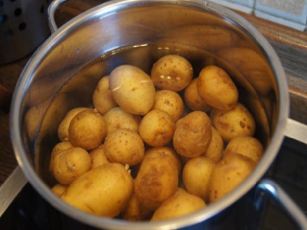 Französche Kartoffeln mit Sahne-Heringsfilets - Rezept - Bild Nr. 4