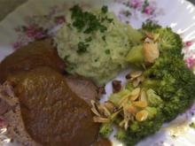 Sauerbraten mit Kartoffelpüree - Rezept - Bild Nr. 2