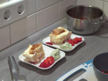 Frankfurter Cremeschnitte mit Salzschaumkaramell - Rezept - Bild Nr. 2