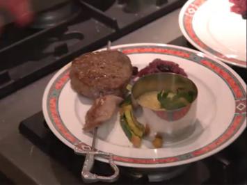 Lamm-trifft-Rind-Brochette mit Couscous, Zucchini und Zwiebeln - Rezept - Bild Nr. 2