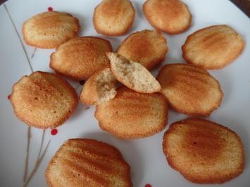 Madeleines mit gebräunter Butter - Rezept - Bild Nr. 9582