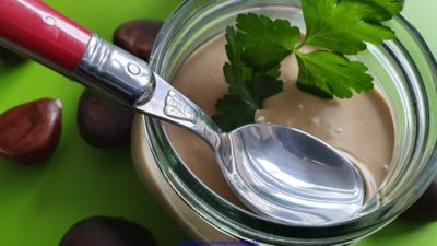 Maroni Suppe (Modifiziertes Rezept- Maronensuppe) - Rezept - Bild Nr. 9592