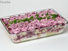Russischer Schichtsalat - abgewandelt - Rezept - Bild Nr. 2