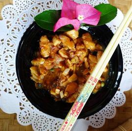 Rezept: Ingwerhuhn in scharfer Teriyaki-Sauce
