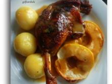 Gänsekeule in Apfelsauce - Rezept - Bild Nr. 2