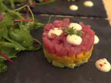 Thunfisch-Mango-Avocado-Tatar mit selbstgemachter Ingwer-Mayonnaise - Rezept - Bild Nr. 3