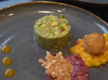 Avocado-Apfel-Tatar / Rind / Jacobsmuschel - Rezept - Bild Nr. 2