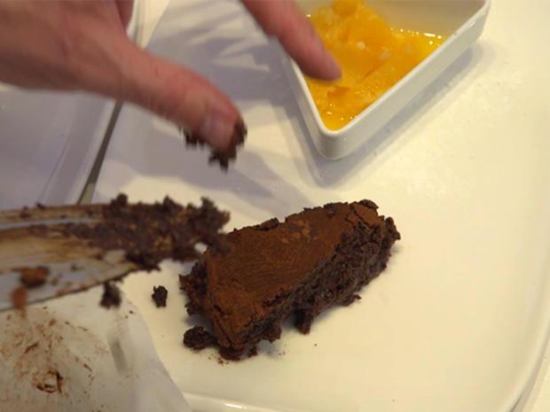 Fondant au chocolat mit Ingwerorangen - Rezept - Bild Nr. 2