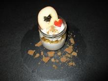 3. Dessert: Zimt-Joghurtquark mit Apfel = kochbar Challenge 12.0 (Dezember 2019) - Rezept - Bild Nr. 2