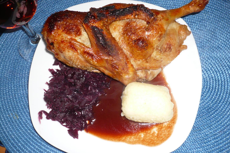Ente mit Rotwein-Schokoladensoße - Rezept - kochbar.de