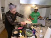 Indisches Curry mit Paratha und Reis - Rezept - Bild Nr. 2
