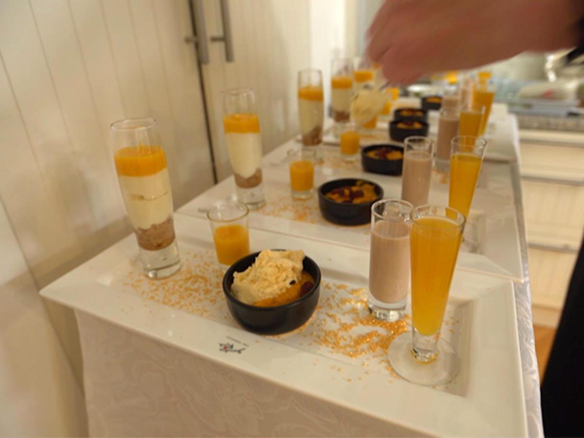 Indisches Dessert Mit Gajar Pak Rezept Kochbar De