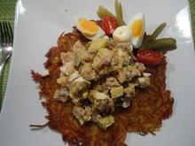 Matjes-Salat auf XXL-Rösti - Rezept - Bild Nr. 9662