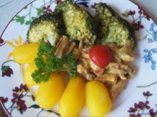 Hähnchenbrustfilet-Geschnetzeltes mit Brokkoli und Drillingen - Rezept - Bild Nr. 2