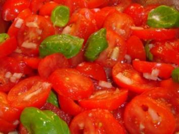 Tomatensalat ganz einfach - Rezept