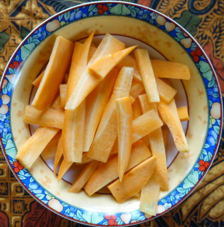 Gewürzte Gurkenstücke auf malayische Art - Rezept - Bild Nr. 11