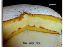 Käse - Sahne - Torte - Rezept - Bild Nr. 2