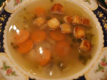 Rezept: Fischsuppe II