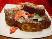 Tronco de Natal ~ Weihnachtsstamm Torte - =kochbar Challenge 12.0 (Dezember 2019) - Rezept - Bild Nr. 9672