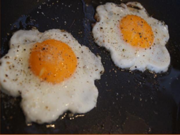 Rote-Bete-Kartoffel-Stampf mit Spiegelei und Chinakohlsalat - Rezept - Bild Nr. 10