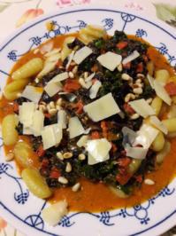 Gnocchi mit Grünkohl - Rezept - Bild Nr. 2
