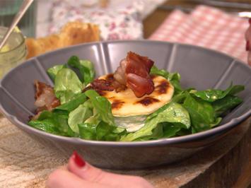 Rezept: Ziegbert mit Mausohrsalat