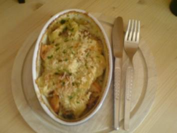 Kartoffel-Hackfleisch-Gratin - Rezept