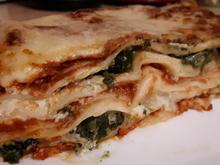 Lasagne: Tomaten-Spinat-Lasagne - Rezept - Bild Nr. 3